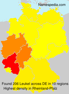 Surname Leukel in Germany