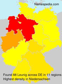 Surname Leunig in Germany