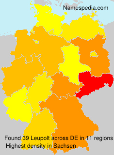 Surname Leupolt in Germany