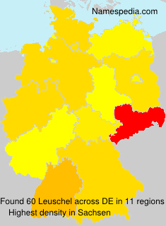 Surname Leuschel in Germany