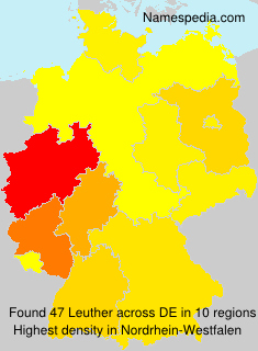 Surname Leuther in Germany