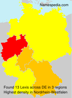 Surname Lexis in Germany
