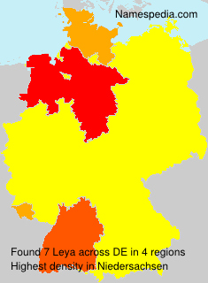 Surname Leya in Germany