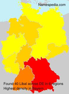 Surname Libal in Germany