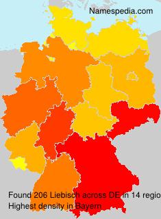 Familiennamen Liebisch - Germany