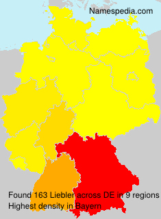 Surname Liebler in Germany