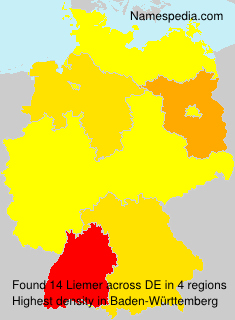 Surname Liemer in Germany