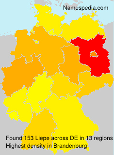 Surname Liepe in Germany