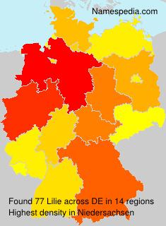 Familiennamen Lilie - Germany