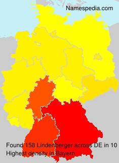 Surname Lindenberger in Germany