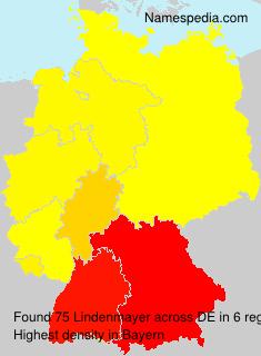 Familiennamen Lindenmayer - Germany