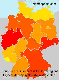 Surname Linke in Germany
