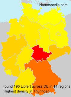 Familiennamen Lipfert - Germany