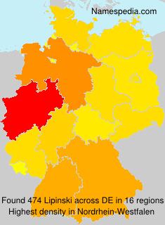 Surname Lipinski in Germany