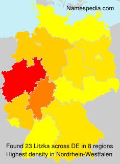 Familiennamen Litzka - Germany