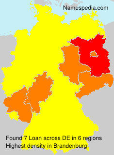 Surname Loan in Germany