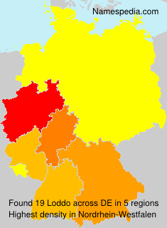 Surname Loddo in Germany