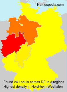 Familiennamen Lohuis - Germany