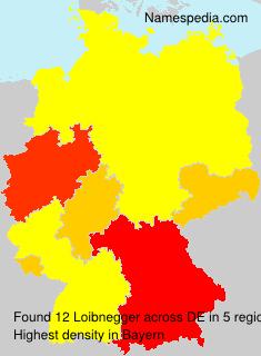 Surname Loibnegger in Germany