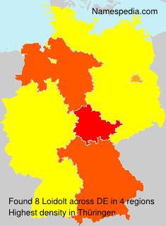 Familiennamen Loidolt - Germany