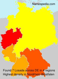 Surname Losada in Germany