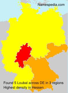 Surname Loubal in Germany