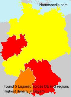 Surname Lugonjic in Germany
