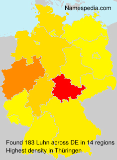 Surname Luhn in Germany