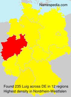 Surname Luig in Germany