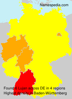 Surname Lujan in Germany