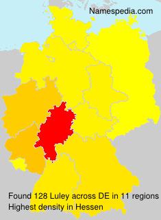 Familiennamen Luley - Germany