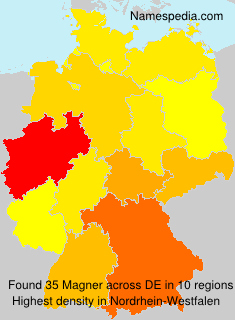 Surname Magner in Germany