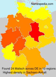 Familiennamen Malisch - Germany