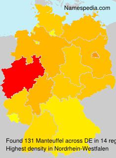 Familiennamen Manteuffel - Germany