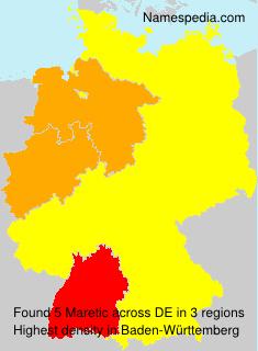 Surname Maretic in Germany