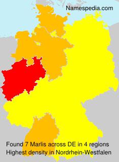 Surname Marlis in Germany