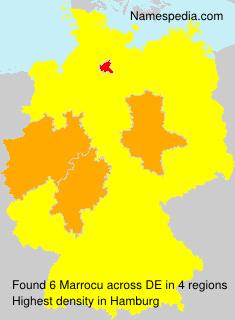 Surname Marrocu in Germany