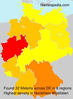Surname Materla in Germany
