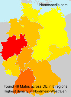 Surname Matos in Germany