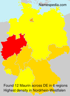 Surname Maurin in Germany