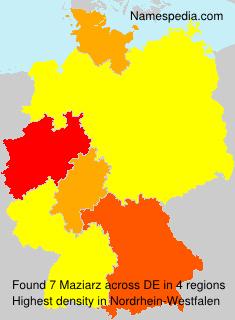 Maziarz - Germany