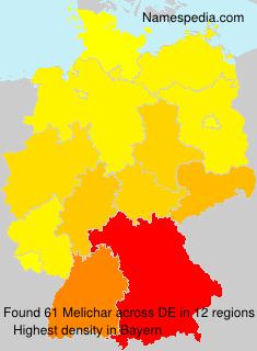 Surname Melichar in Germany