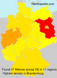 Surname Melzow in Germany