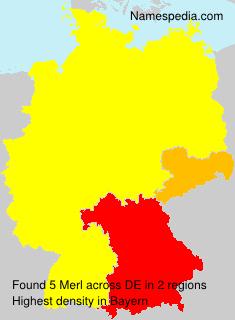 Surname Merl in Germany