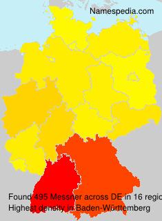 Familiennamen Messner - Germany