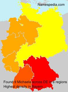 Familiennamen Michaela - Germany
