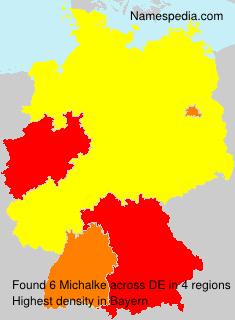 Familiennamen Michalke - Germany