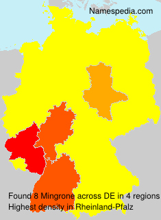 Familiennamen Mingrone - Germany