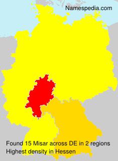 Surname Misar in Germany