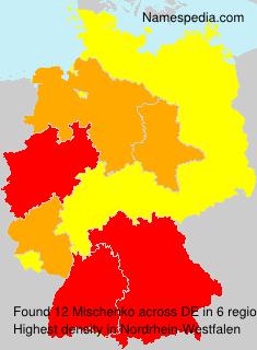Familiennamen Mischenko - Germany